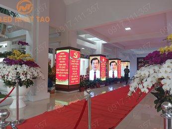 Màn hình LED P5 TRONG NHÀ tại UBND tx Phú Mỹ