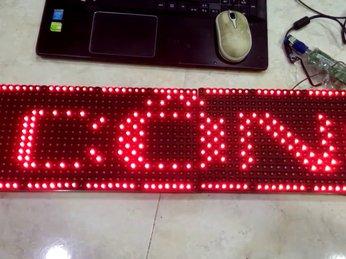 Hướng dẫn lập trình LED ma trận P10 chi tiết