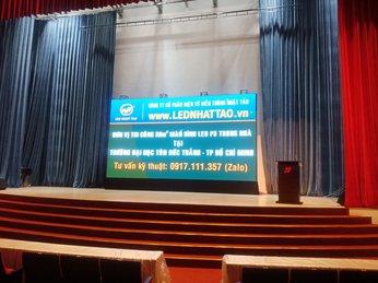 Thi công màn hình LED Q3 tại Đại Học Tôn Đức Thắng