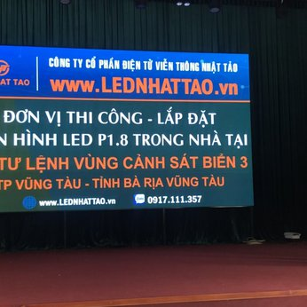 Màn hình LED P1.8 Trong Nhà tại Bộ Tư Lệnh Vùng Cảnh Sát Biển 3