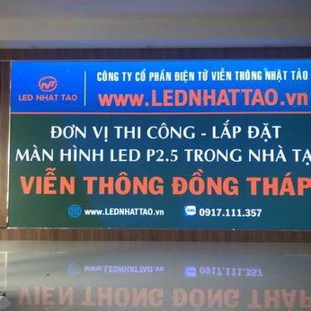 Màn hình LED P2.5 tại Viễn Thông Đồng Tháp
