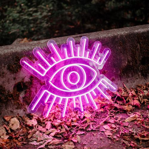 "Led Neon Sign ""Mắt'  . 'EYE' NEON SIGN"
