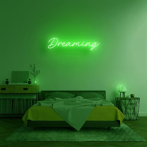 "Led Neon Sign ""DREAMING"""