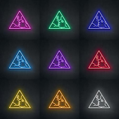 """Led Neon Sign """"AESTHETE """""""