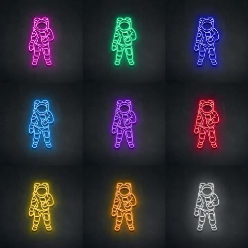 "Led Neon Sign ""Phi Hành Gia"""