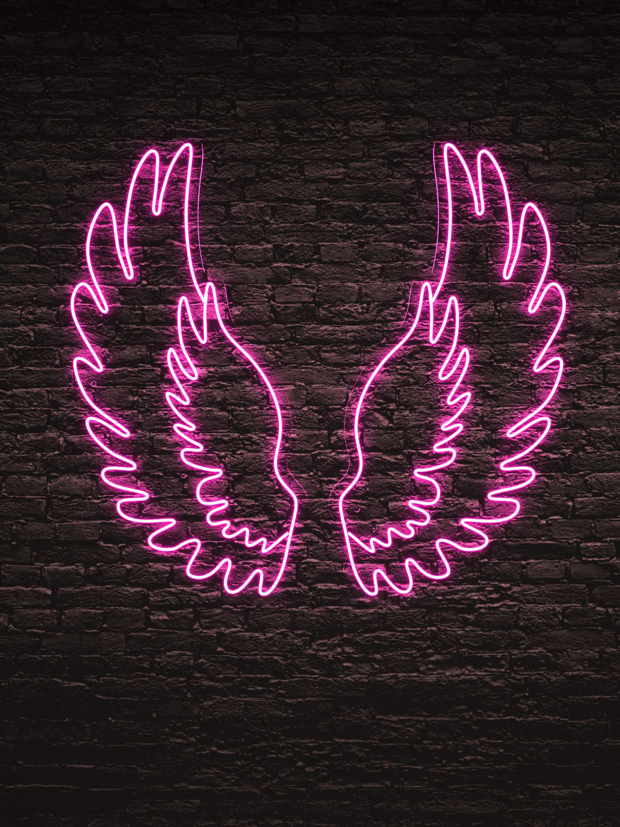 """Led Neon Sign """"Đôi Cánh Thiên Thần"""""""