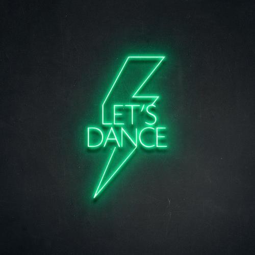 """Led Neon Sign """"LETSDANCEA"""""""