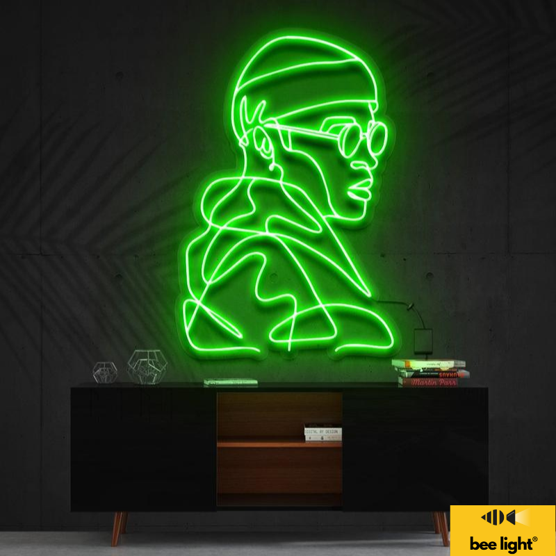 """Led Neon Sign """"Street Cred"""""""