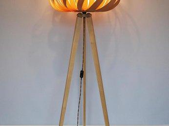 Đèn gỗ làm từ veneer - Nét đẹp đến từ chất Mộc