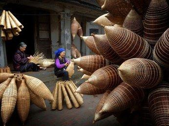 Thăm làng nghề đan đó 200 tuổi ở Hưng Yên- Nét đẹp làng nghề thủ công Việt Nam