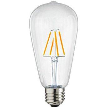 Bóng Đèn Led Edison ST64 vỏ trắng 4w - ánh sáng vàng ấm