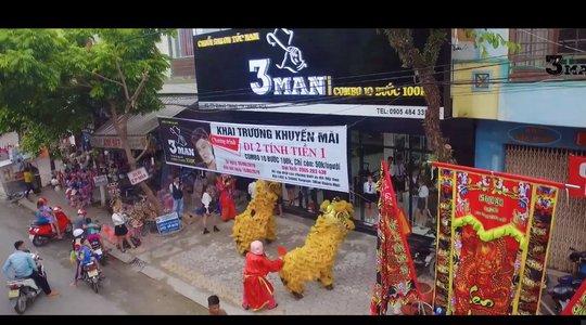 [EVENT] KHAI TRƯƠNG HAIR SALON NAM 3MAN tại QUẢNG NGÃI