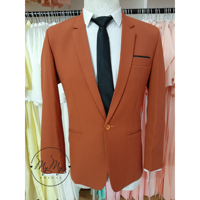 Áo vest chú rể màu nâu đất cho thuê áo vest  rẻ chú rể Gò Vấp Hồ Chí Minh