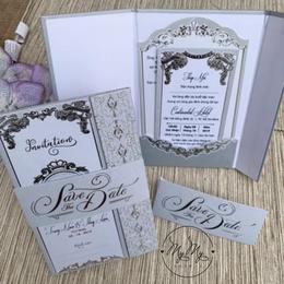Thiêp cưới thiết kế tinh tế - DQ2020