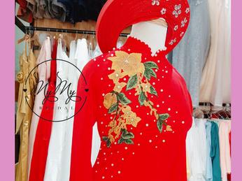 Thuê áo dài cưới đẹp giá rẻ tại tphcm