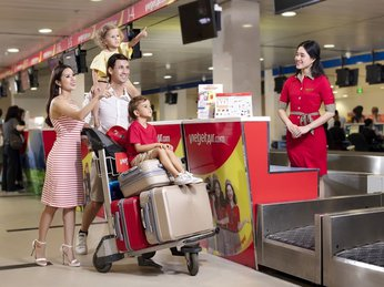 Vietjet Air bán ưu đãi 2 triệu vé máy bay nhân ngày Quốc tế Thiếu nhi 1/6