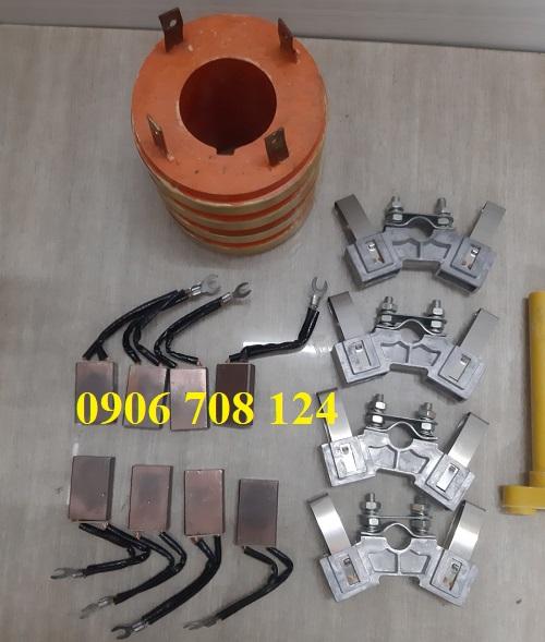 Cổ góp điện 4 pha kích thước 55x110x108 mm