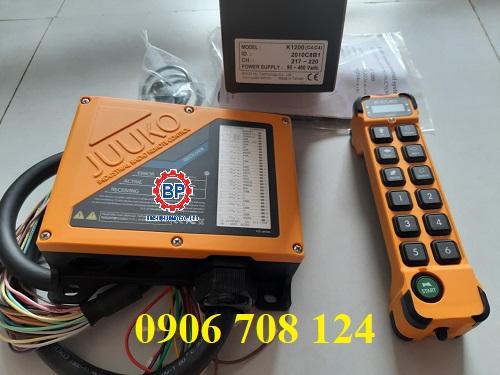 Tay bấm điều khiển từ xa cầu trục 12 nút K1200