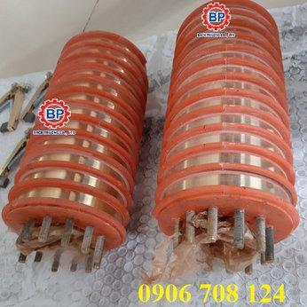 Cổ góp điện 12 pha kích thước 40x100x210 mm