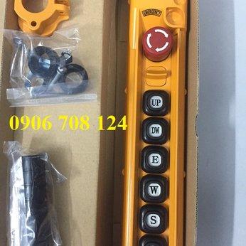 Nút bấm điều khiển cầu trục loại 6 nút