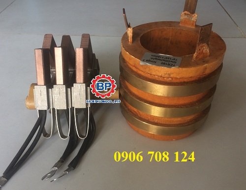 Cổ góp điện 3 pha kích thước 65x112x100 mm