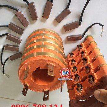 Cổ góp điện 5 pha đường kính 60x110x140 mm