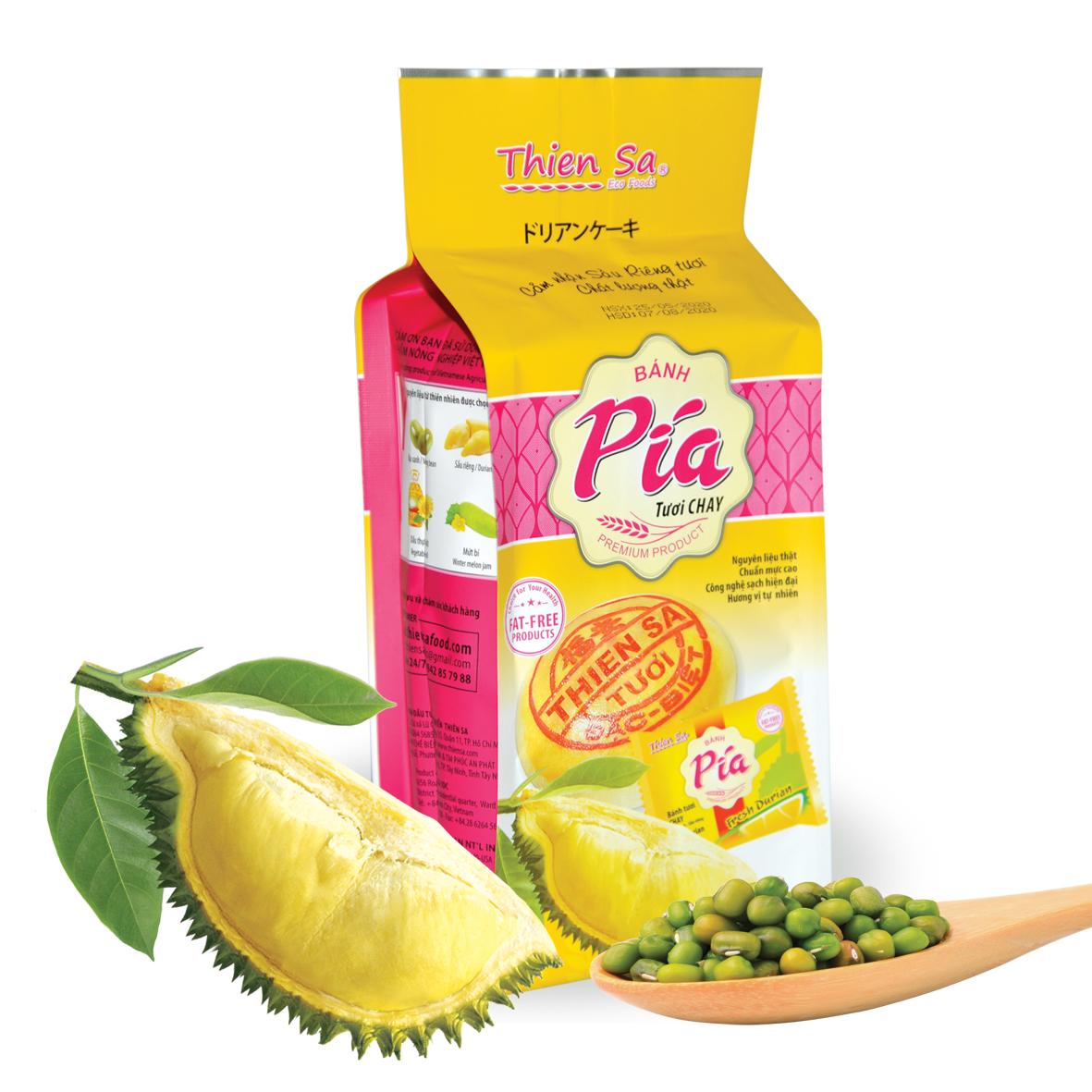 Bánh Pía sầu riêng tươi Chay Thiên Sa