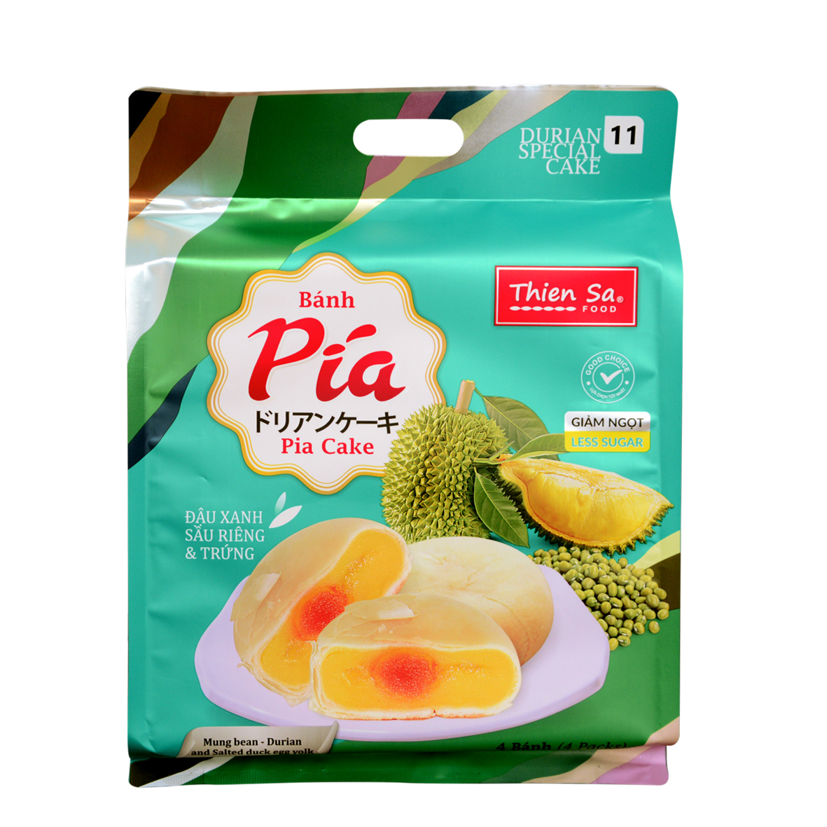 PIA Cake - Durian Egg