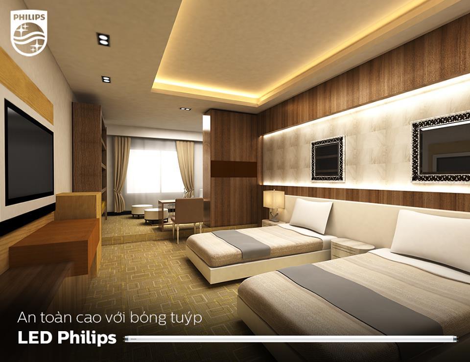 Bóng đèn tuýp Philips Ecofit LEDtube 0m6 9W 765 T8 AP C G