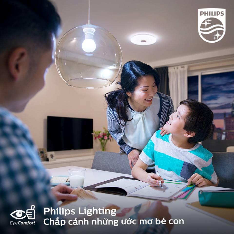 Combo 12 Bóng đèn Led Bulb Philips 7W E27 6500K 230V A60 APR Ánh sáng chất lượng sáng cao,  êm dịu cho mắt