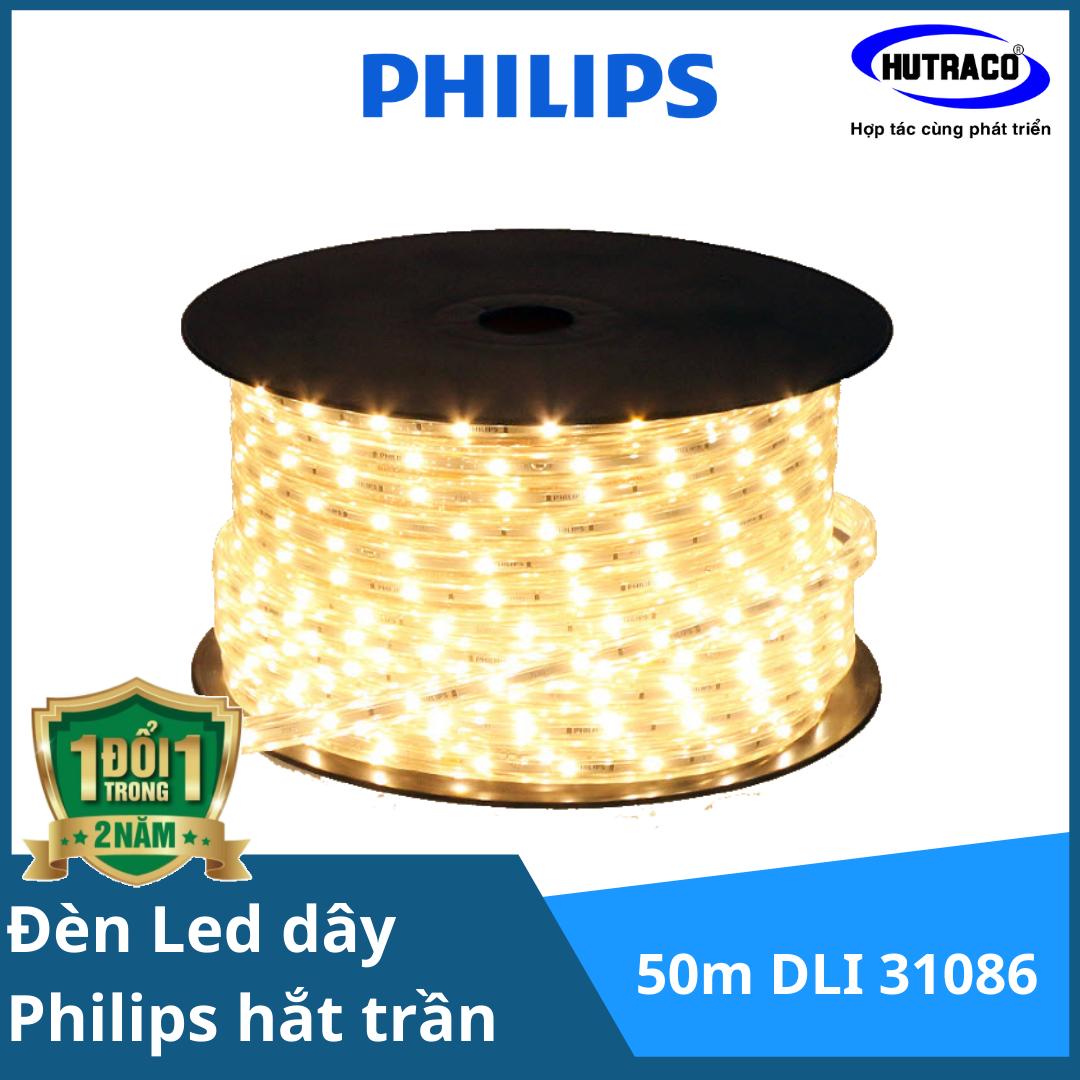 Đèn Led dây Philips chiếu sáng hắt trần Trade HV Tape (LED dây 220V) 50m DLI 31086 HV LED TAPE 6500K LL White