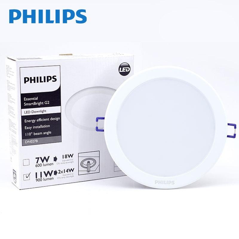 Đèn Downlight Led âm trần Philips DN027B 10W