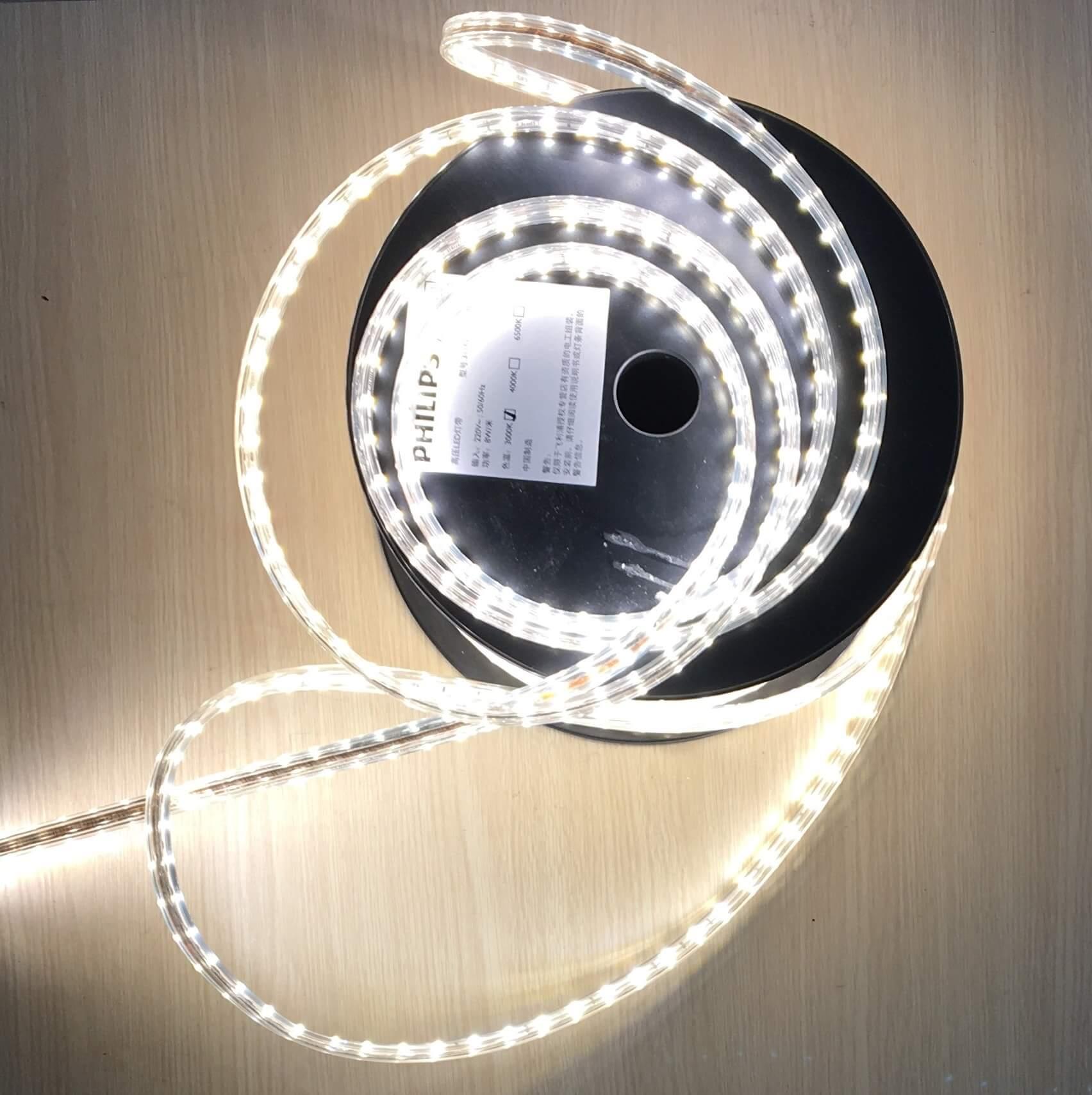 Đèn Led dây Philips DLI 31160 5W/mét HV LED TAPE 3000K LL White 220V 50 mét/cuộn