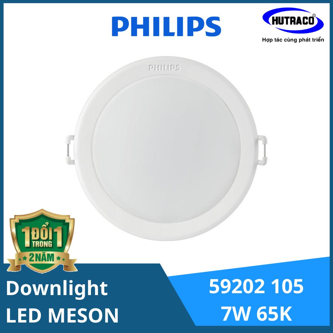 Đèn Downlight Âm Trần Led Philips 59202 MESON 105 7W 65K