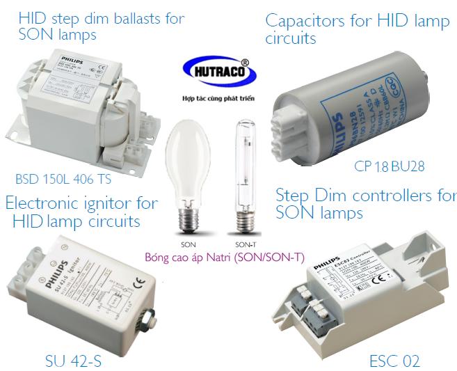 Bộ ruột đèn cao áp 2 cấp công suất Philips 150W - 100W chiếu sáng tiết kiệm điện năng cho những tuyến đường nội bộ
