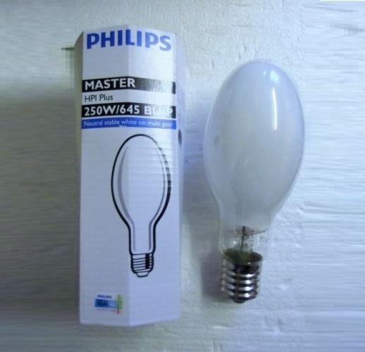 Bóng đèn cao áp Philips Metal Halide MASTER HPI Plus 250W/645 BU E40 1SL/12