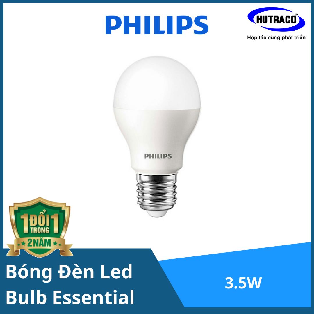 Bóng đèn Led Bulb Philips 3.5W E27 6500K 230V A60 APR Sáng dịu nhẹ - lan tỏa yêu thương