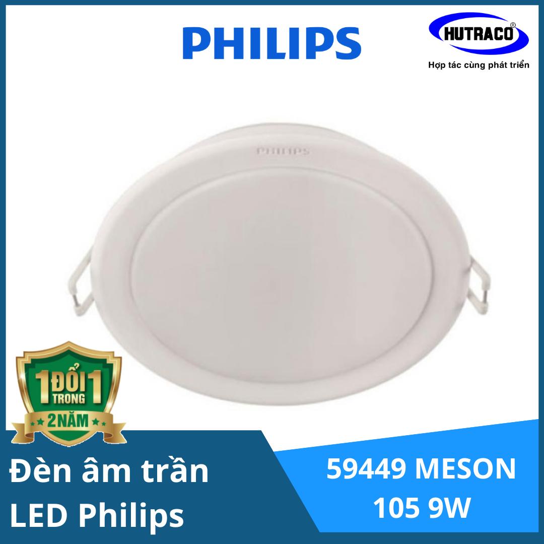 Bộ đèn downlight âm trần LED Philips 59449 MESON 105 9W