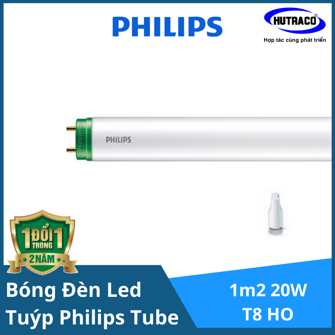 Bóng đèn tuýp Philips Ecofit HO LEDtube 1m2 20W T8