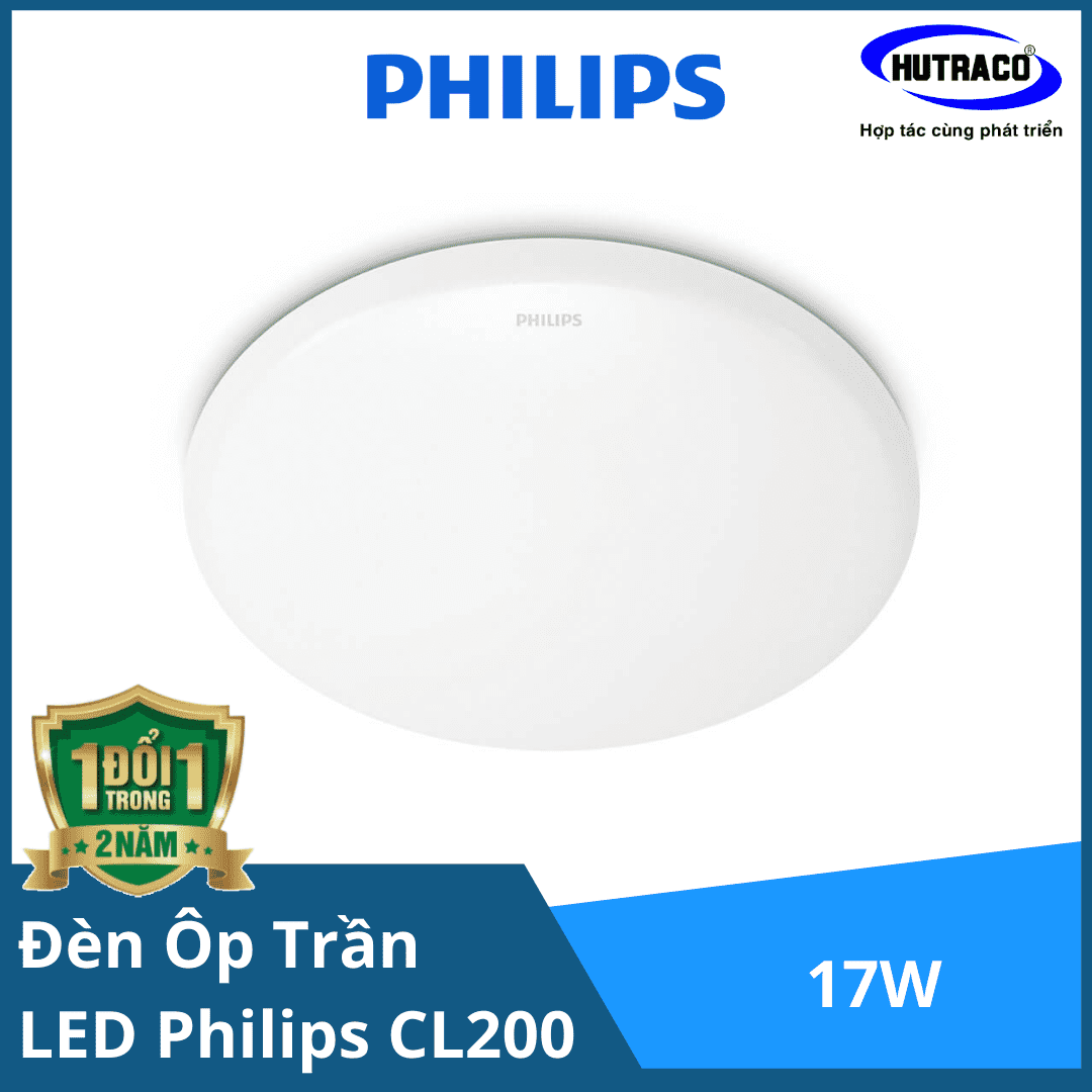 Đèn ốp trần LED Philips CL200 EC RD 17W HV 02 65K LED CEILING
