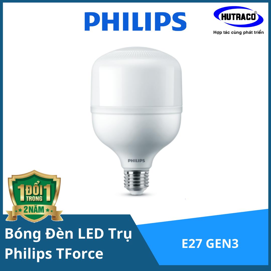 Bóng Đèn LED Trụ Philips TForce Core HB 50W E27 GEN3