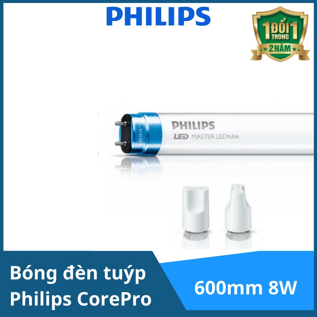 Bóng đèn tuýp Philips CorePro LEDtube 600mm 8W865 T8 AP I