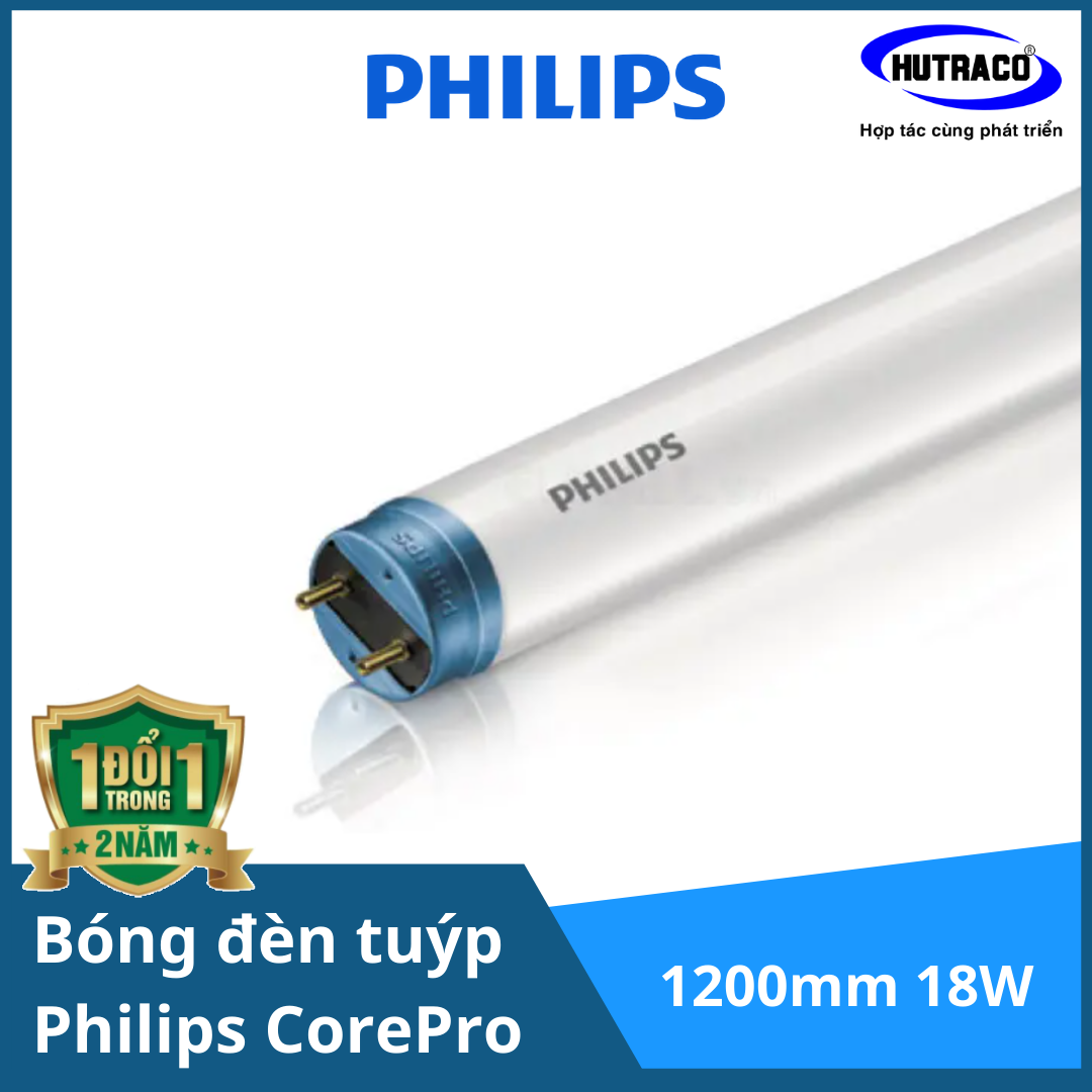 Bóng đèn tuýp 1m2 Philips CorePro LEDtube HO 1200mm 18W865T8 AP