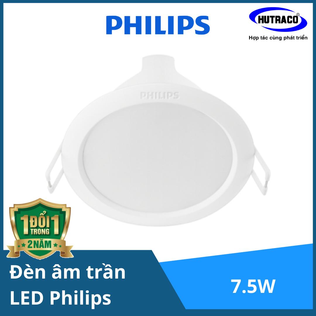 2 Bộ Đèn Downlight âm trần LED Philips 5W