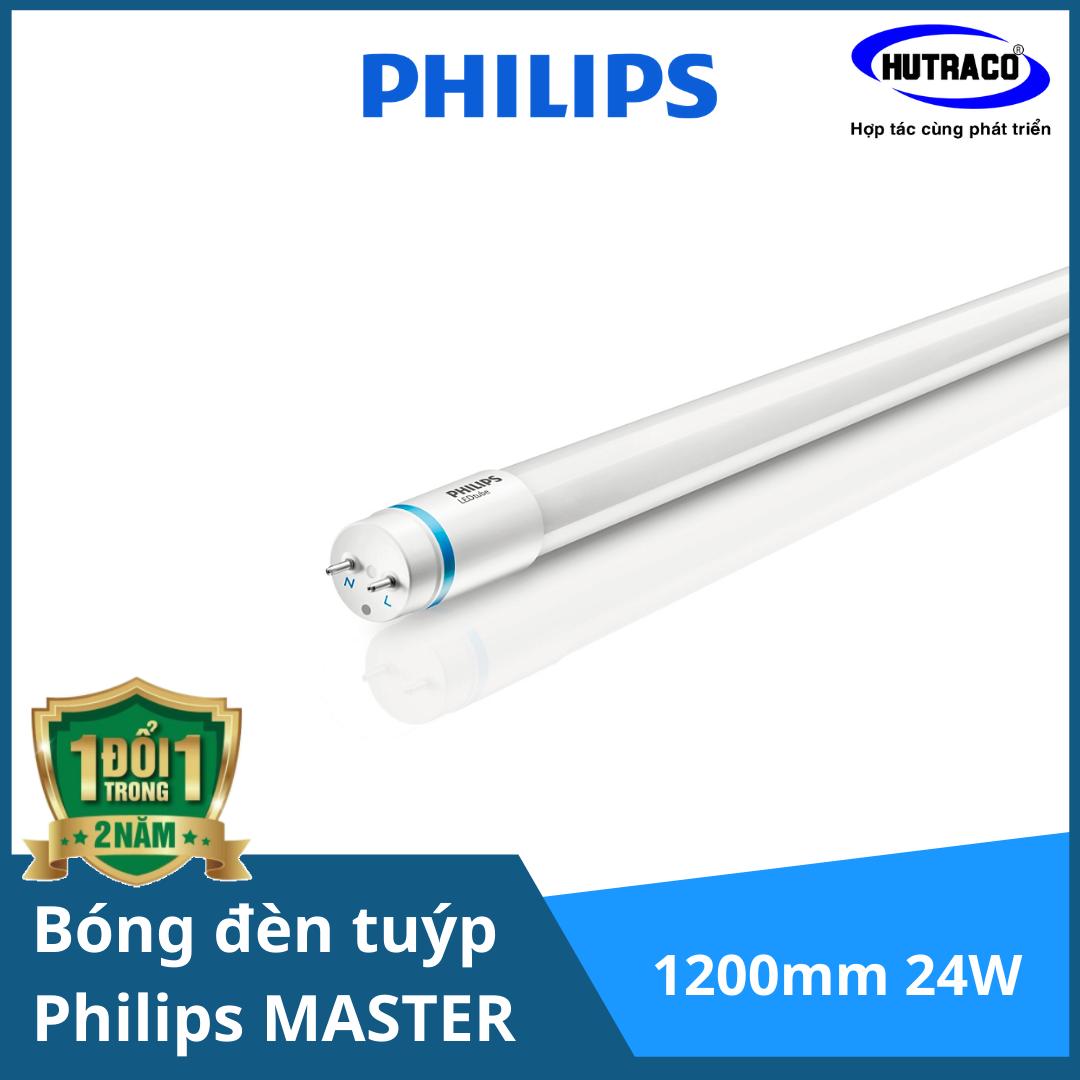 Bóng đèn tuýp 1m2 Philips MASTER LEDtube 1200mm 3700lm 24W865 T8 VN