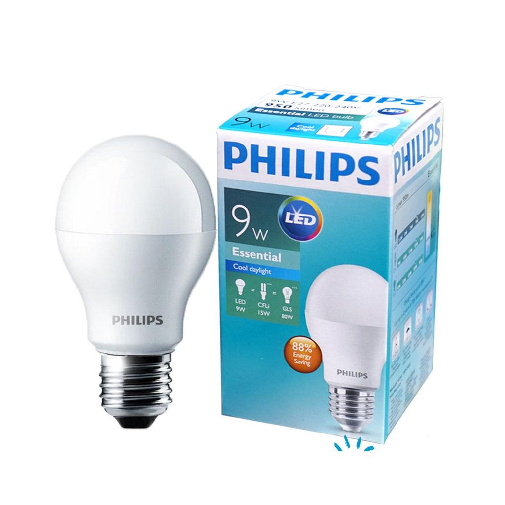 Bóng Led Bulb Philips Essential ESS LED Bulb 9W E27 A60
