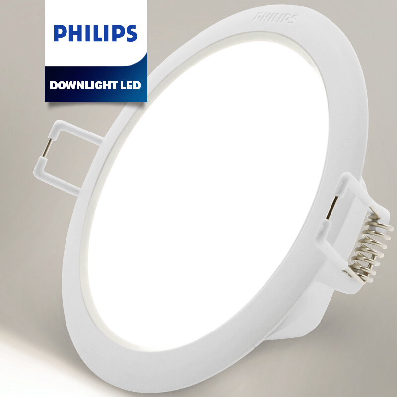 Đèn Downlight âm trần Led Philips 5W G2 LED6/CW/NW/WW D100
