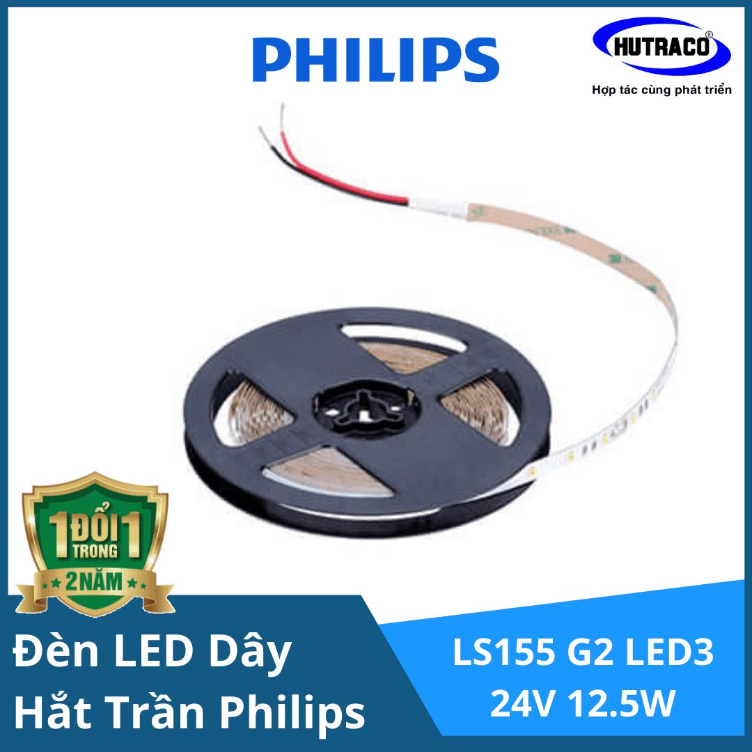 Đèn LED dây chiếu sáng hắt trần trang trí Philips LS155 G2 LED3 L5000 24V 12.5W/Cuộn
