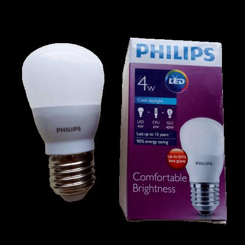 Bóng đèn LED Bulb Philips 4W E27 6500K 230V A55