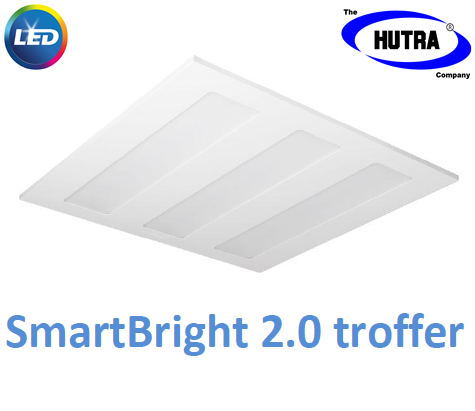 Máng đèn âm trần Led Panel Philips SmartBright 2.0 troffer RC098V LED22S /865 W600L600 GM 26W